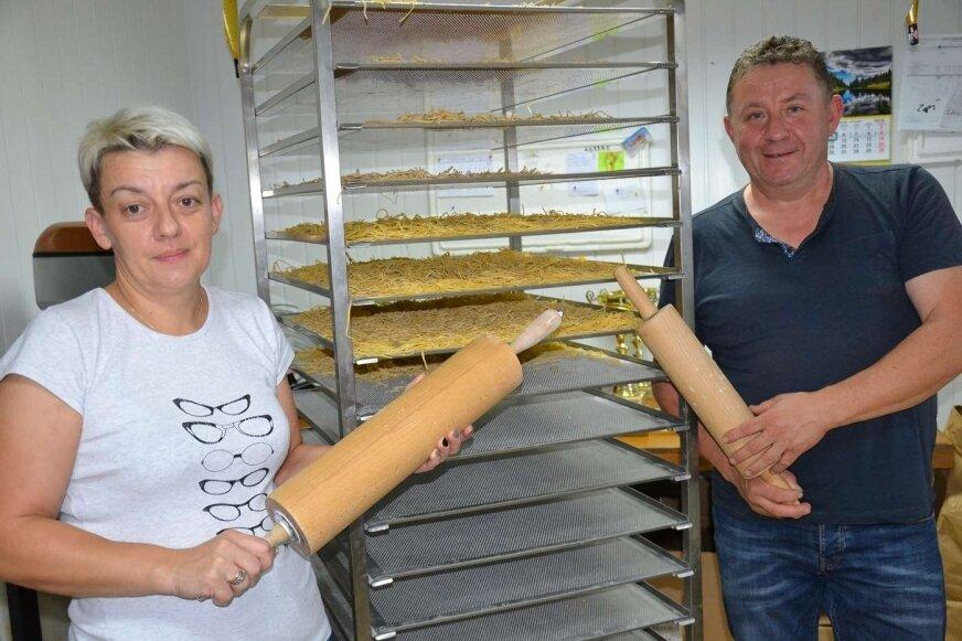 Wioletta i Dariusz Marcinkowscy od lat zajmują się promocją i wytwarzaniem produktów regionalnych.