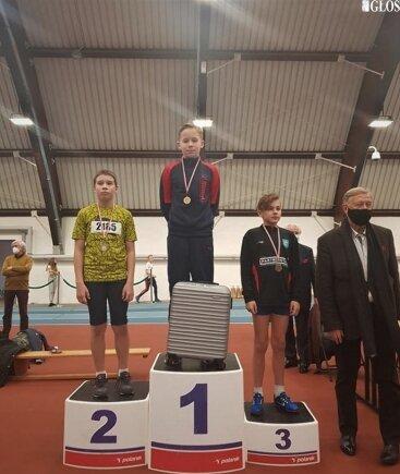 Alex Garbicz wygrał sprint na 60 metrów podczas V Halowych Mistrzostw Czwartków Lekkoatletycznych.