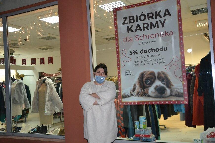 Aleksandra Pirowska wspiera żyrardowskie schronisko, zachęca do tego także innych.