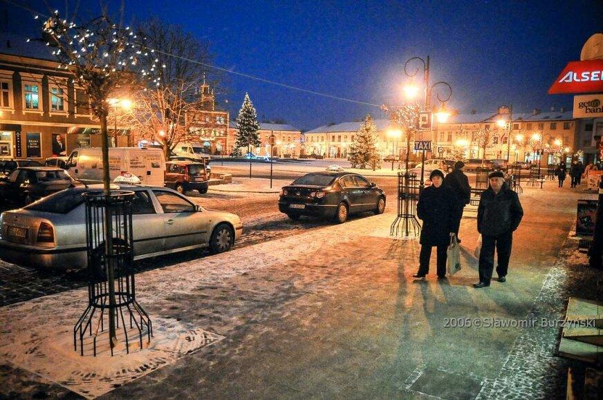 Tak wyglądało centrum Skierniewic w grudniu 2012 roku [ZDJĘCIA]