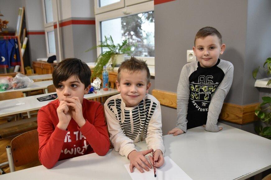 Zajęcia w szkole podczas zimowiska pokazały, że dzieci są zarówno za stacjonarną nauką jak i za swoim towarzystwem bardzo stęsknione.