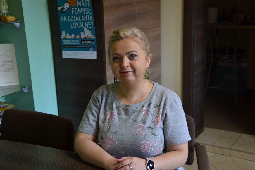 Katarzyna Niewczas od lat wspiera działania senioralne.
