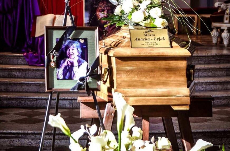 Pogrzeb Marii Anackiej-Łyjak