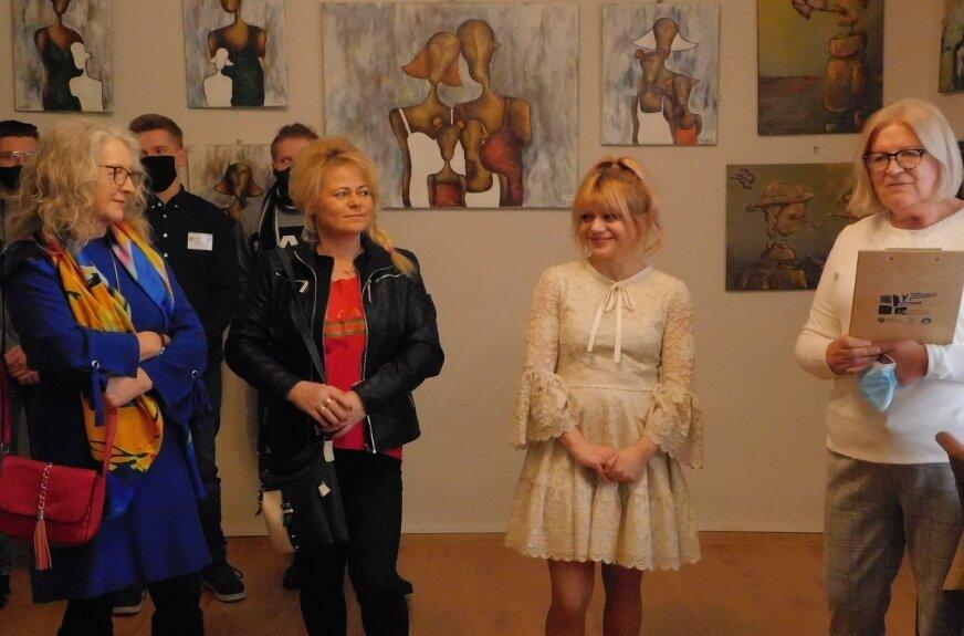Wystawa Katarzyny Klimek w Galerii U Nas