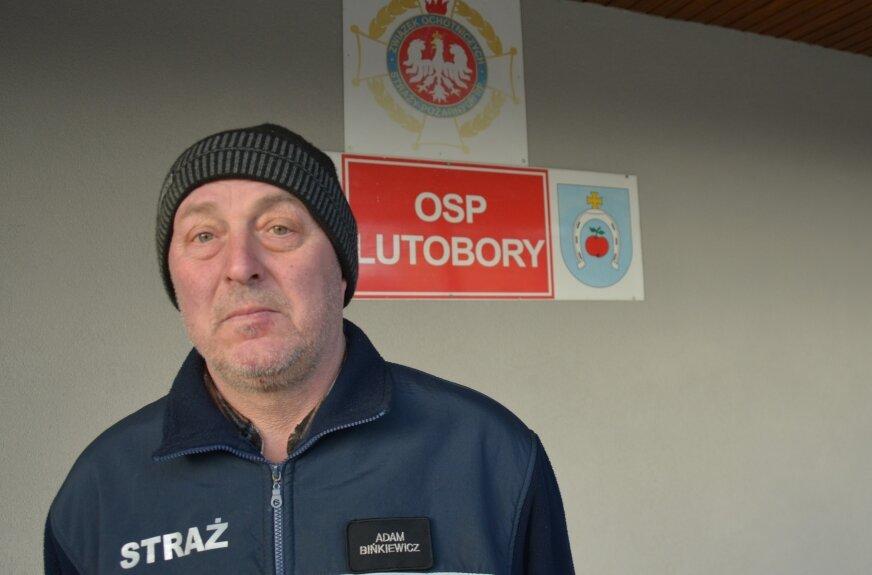 Adam Bińkiewicz, prezes OSP w Lutoborach  opowiedział nam o planach jednostki.