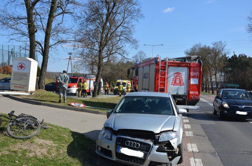 Dwie osoby zostały ranne w wyniku zdarzenia w Pukininie.