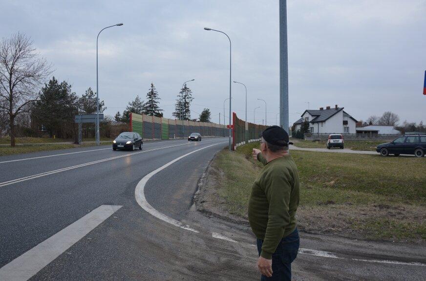 Krzysztof Wardzyński jest zawodowym kierowcą. podkreśla, e drogowcy muszą zadbać o bezpieczeństwo na tym fragmencie trasy