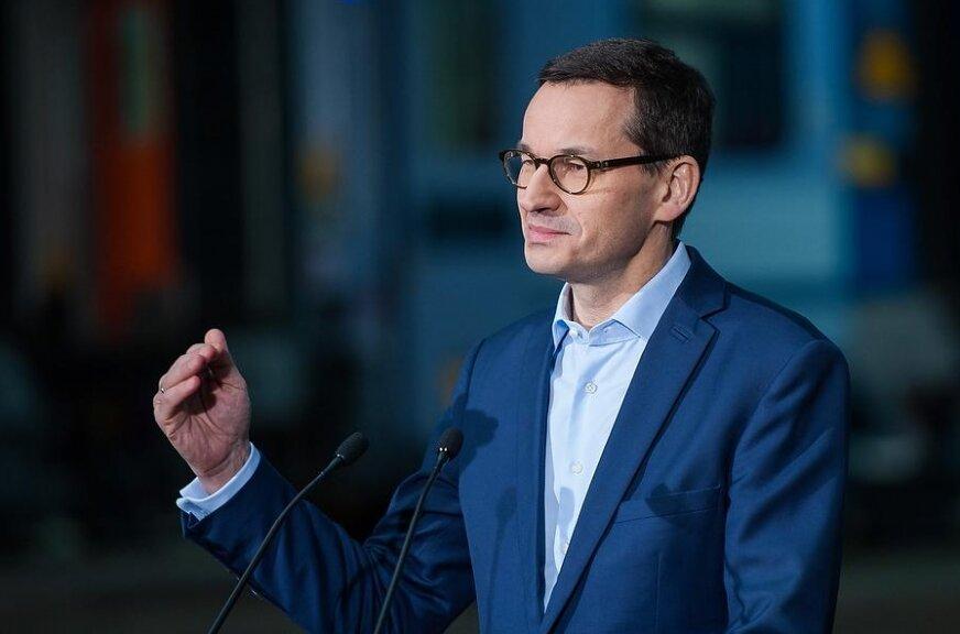 Premier Mateusz Morawiecki przyjedzie dziś do Skierniewic