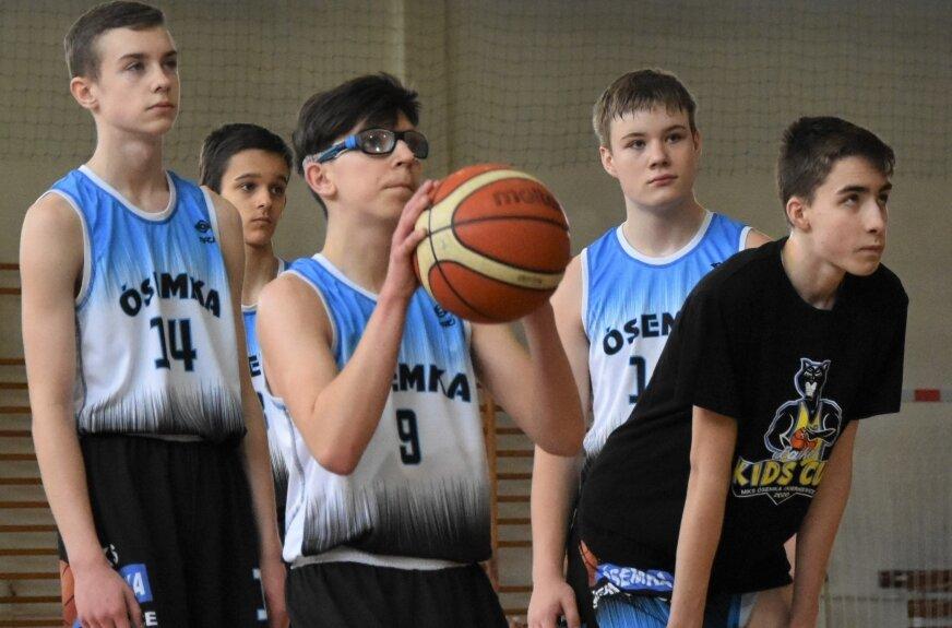 Finał strefy kadetów U15 w koszykówce