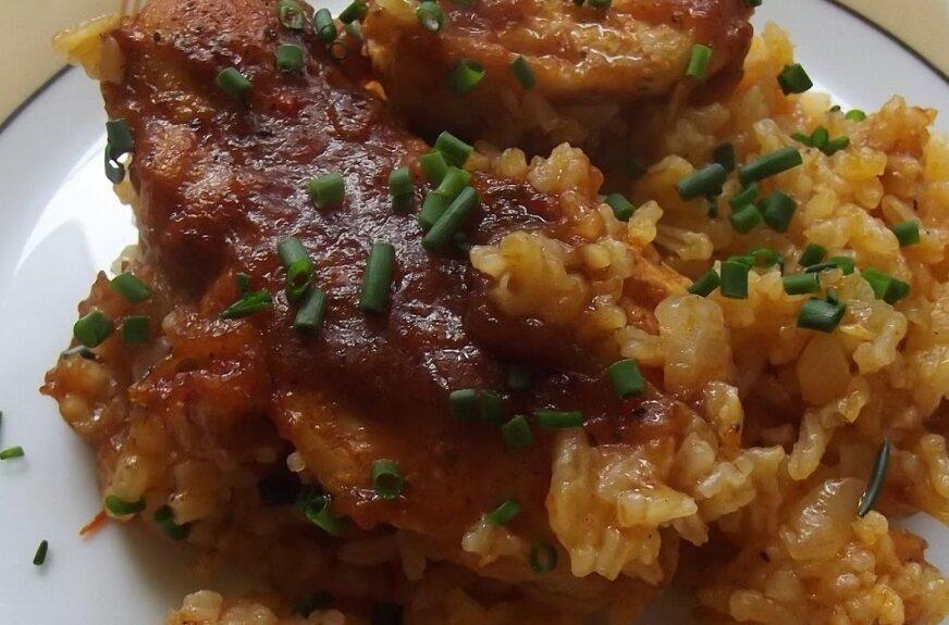 Zapiekanka z ryżem