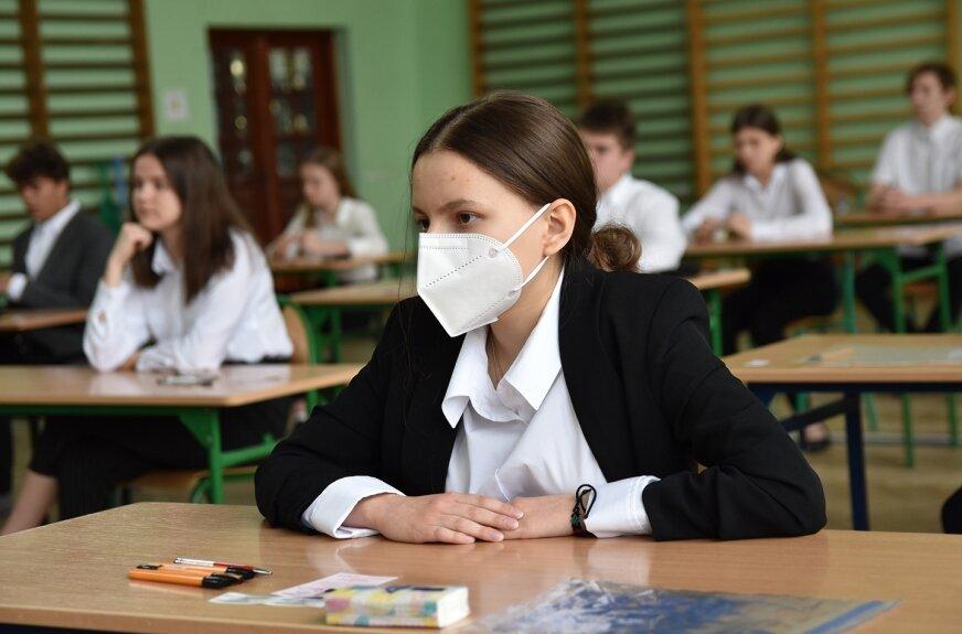 W reżimie sanitarnym ruszył maraton egzaminacyjny ósmoklasistów