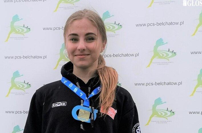 Anna Kłosińska została w Bełchatowie podwójną mistrzynią województwa.