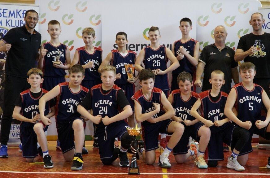 Półfinał mistrzostw Polski młodzików w koszykówce