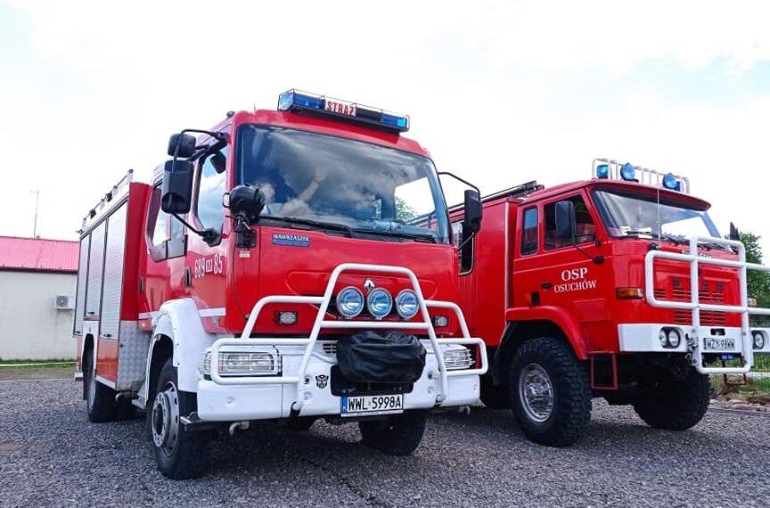 Strażacy z Osuchowa dumni z zakupu