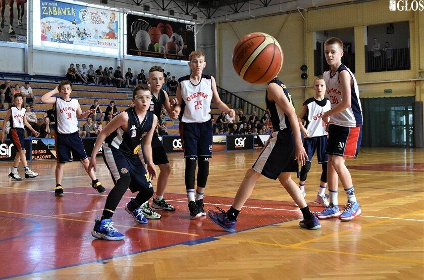 Ósemka fantastycznie rozpoczęła półfinał mistrzostw Polski w koszykówce młodzików U13.