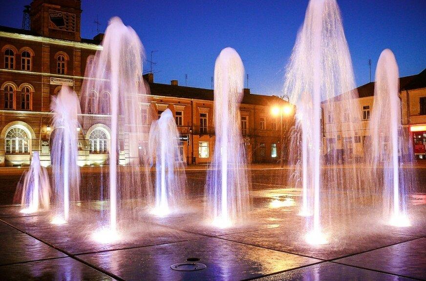 Skierniewicka fontanna w naprawie i będzie działać