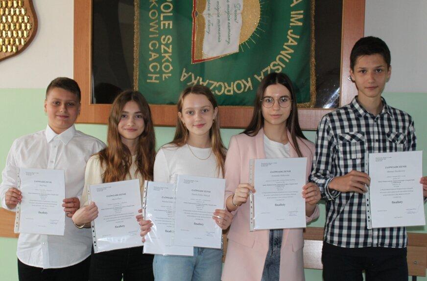 Sukces szkoły z Sadkowic i jej uczniów. Motywacja dla innych