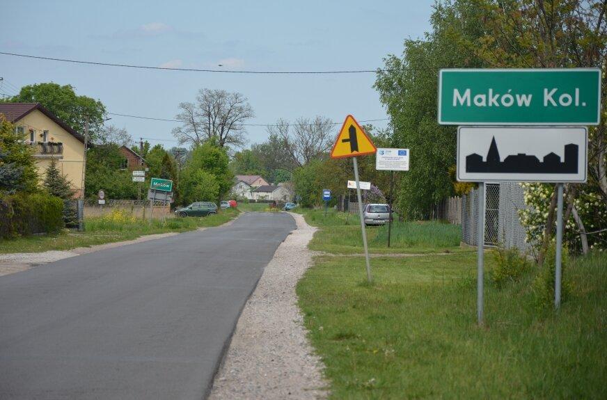 Planowany do remontu odcinek to bardzo uczęszczana trasa z Makowa do Woli Makowskiej.