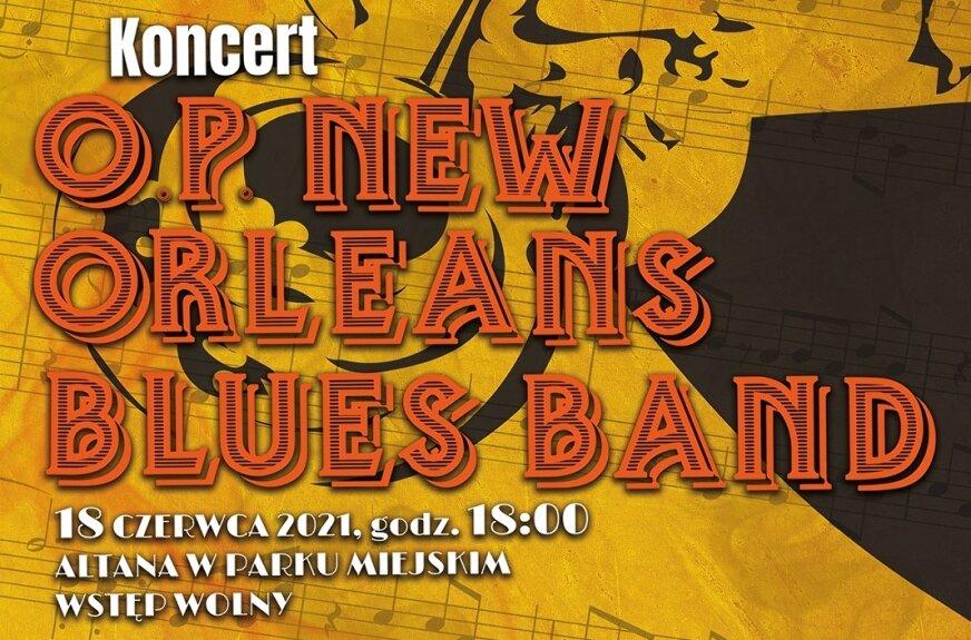 Jazz w parku. Zagra O. P. New Orleans Blues Band