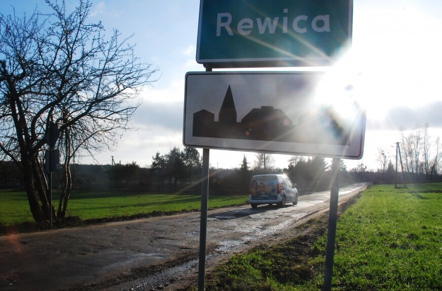 Będzie drugi etap drogi w Rewicy