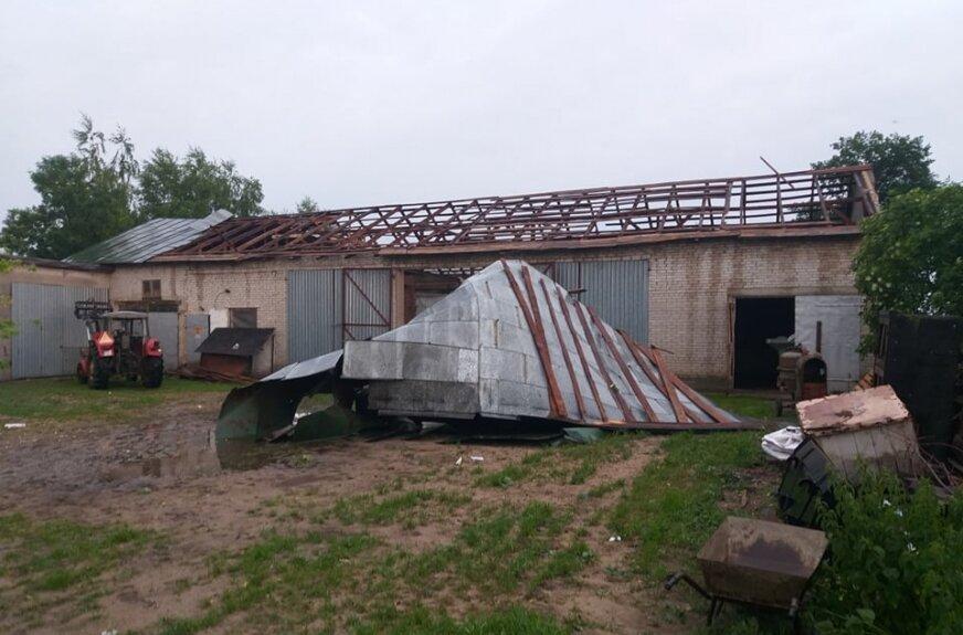 Nawałnice w regionie! Zerwane dachy z budynków
