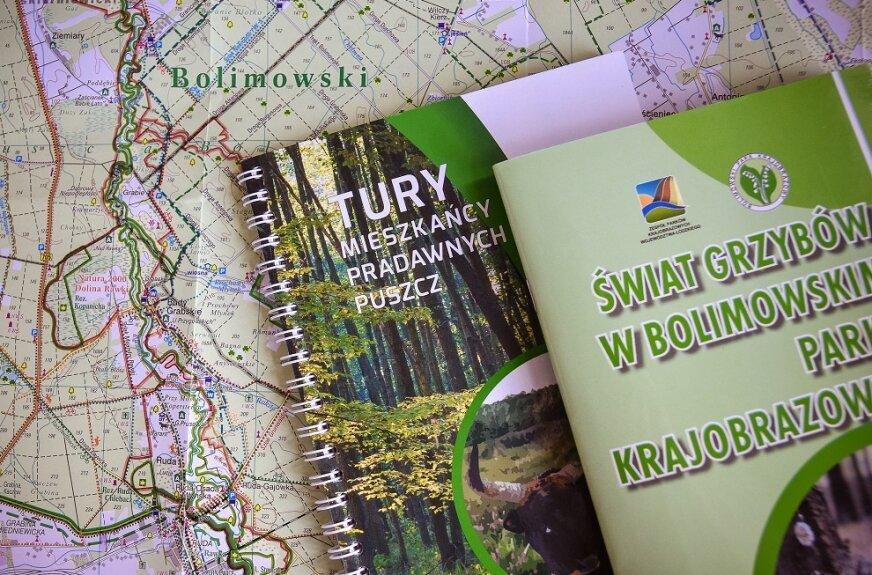 Mamy mapy Bolimowskiego Parku Krajobrazowego