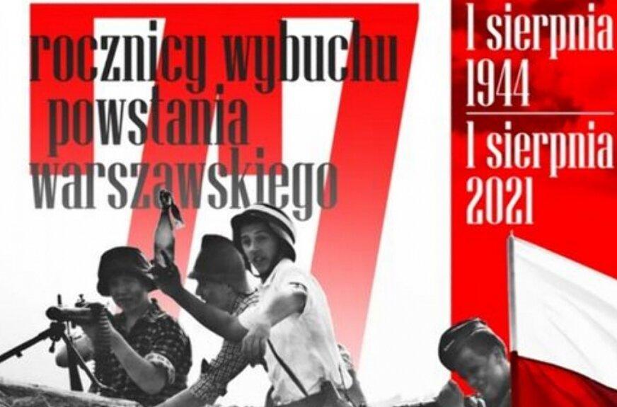 77 rocznica Powstania Warszawskiego. Obchody w Skierniewicach