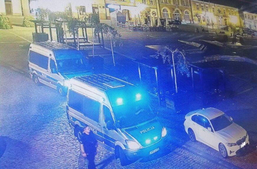 Policja była w Rynku i nad zalewem w Skierniewicach