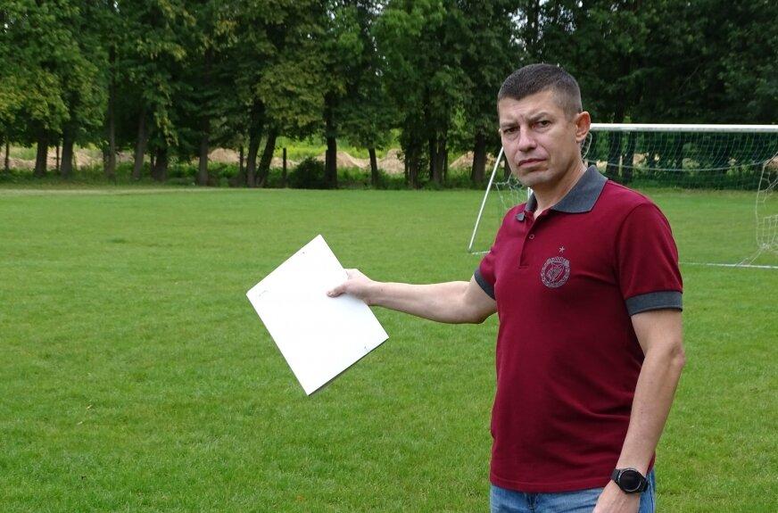 Bartosz Chinowski, wiceprezes RKS Mazovia podkreśla, że chcą stworzyć dobre warunki do trenowania zawodnikom. Przy wsparciu darczyńców zrealizują ten cel szybciej.