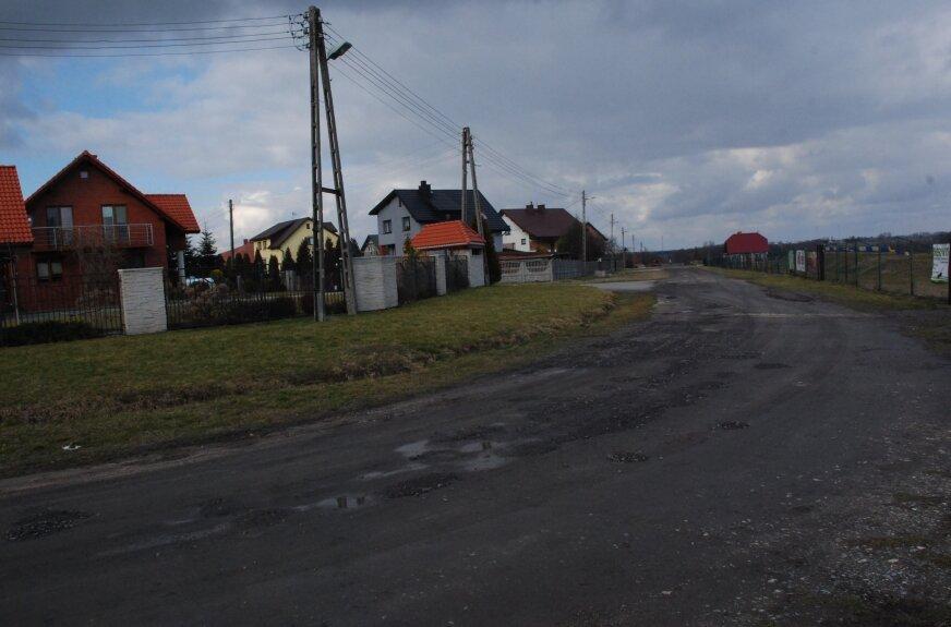 Jedną z planowanych do przebudowy dróg jest ulica Kaczeńcowa w Jeżowie.