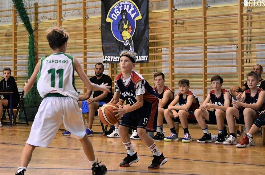 W ramach przygotowań do kolejnego sezonu na koszykarskich parkietach klub Ósemka zorganizował turniej Basket Kids Cup.