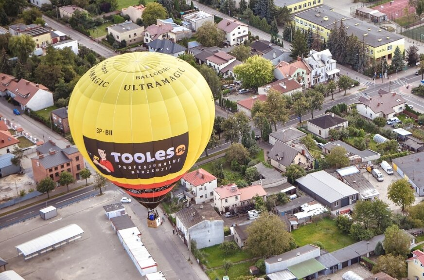 Podziwiajmy balony nad Skierniewicami