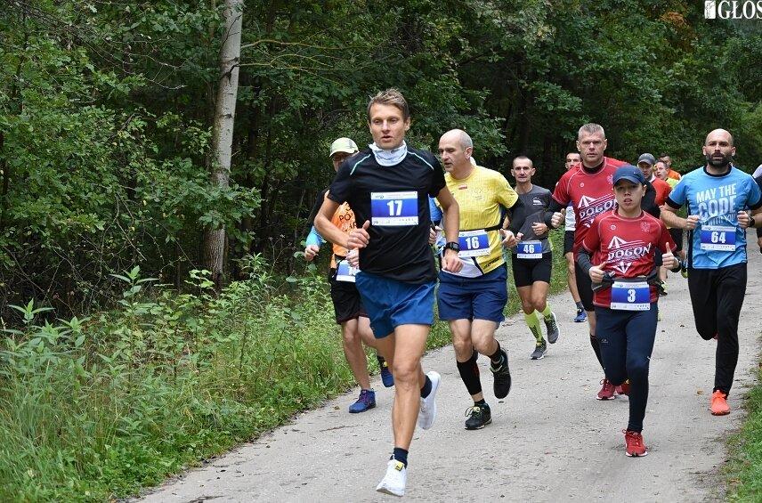 Miłośnicy biegania po raz trzeci wzięli udział w Porankowym Półmaratonie Leśnym.