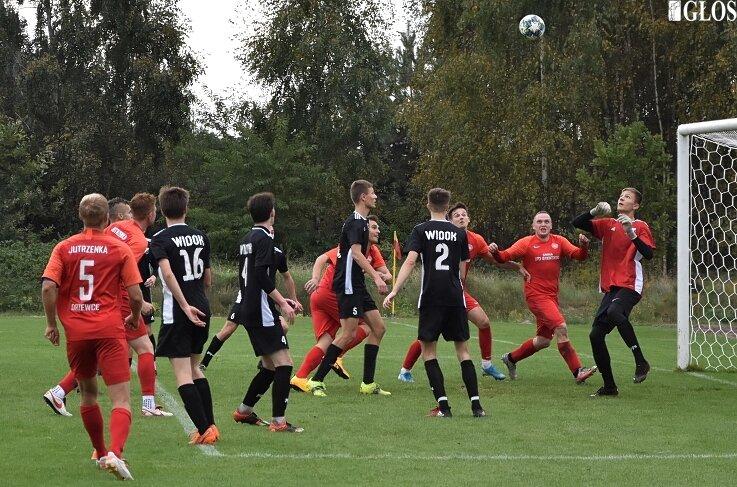 W Sierakowicach Widok pokonał Jutrzenkę Drzewce 2:0.