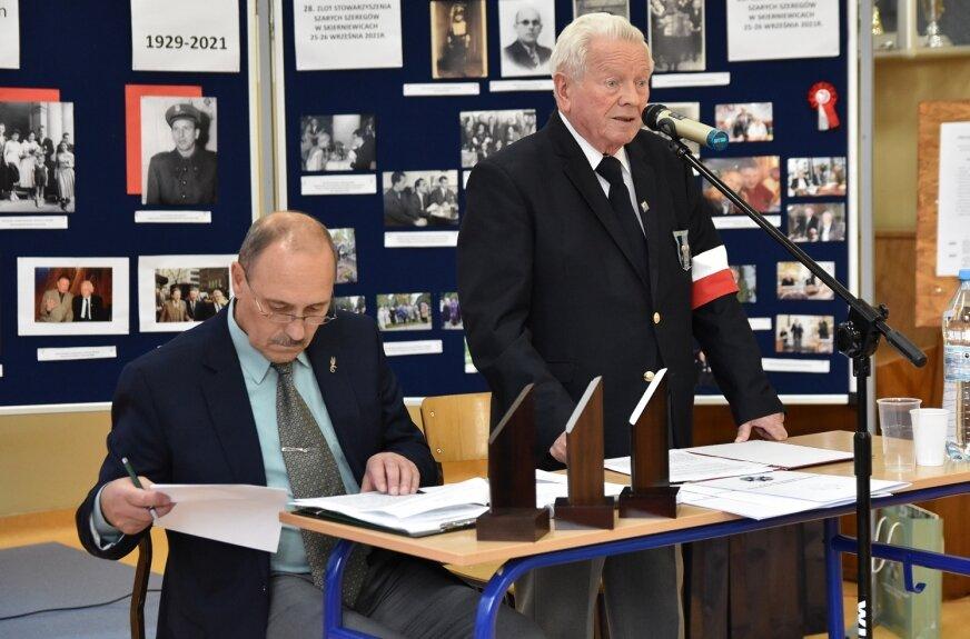 Spotkanie poprowadził Kazimierz Figat.