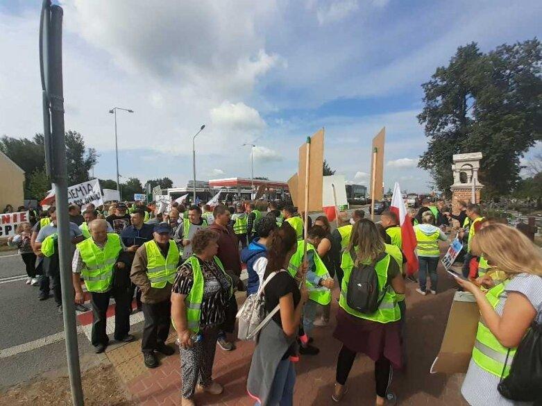 Wielki protest zdesperowanych objętych planami budowy CPK