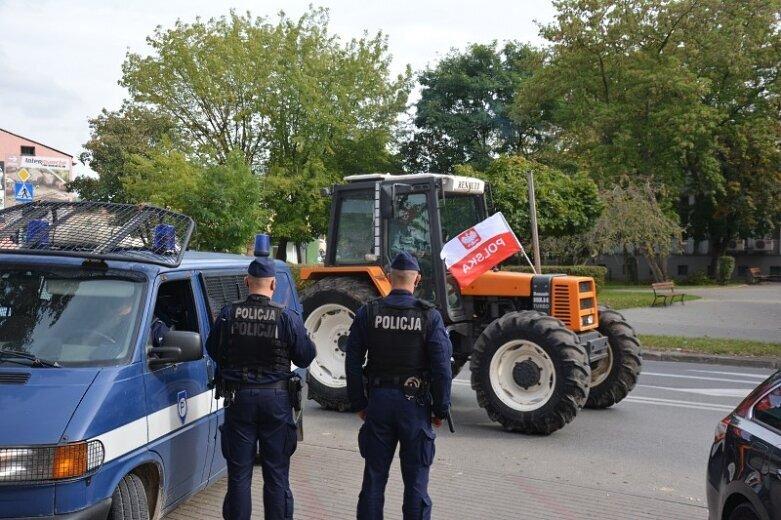 W biurze poselskim PiS protestujący rolnicy mówili o zdrajcach
