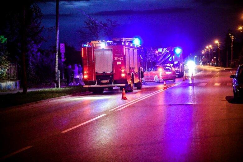 Wypadek na ulicy Nowobielańskiej