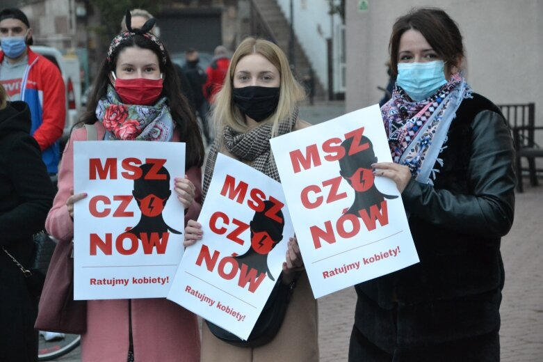 Strajk Kobiet w Mszczonowie