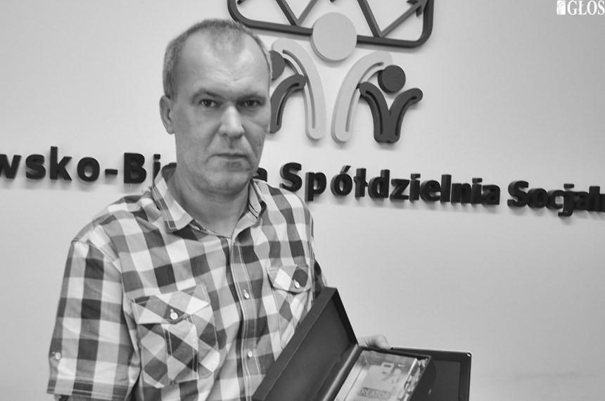 Robert Goździk, prezes Rawsko-Bialskiej Spółdzielni Socjalnej