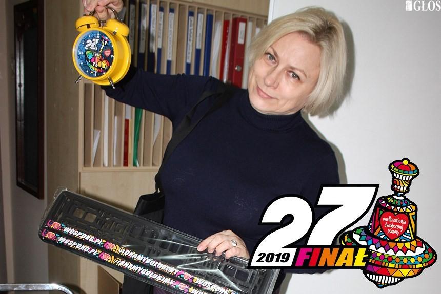 Wanda Łapińska, szefowa sztabu WOŚP Skierniewice
